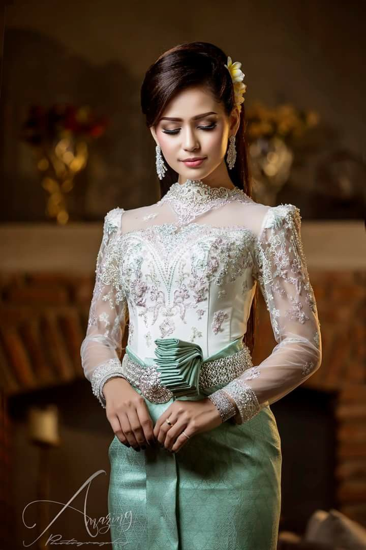 Thai Wedding Dress Khmer Cambodian Costumes Outfits Traditional Weddings Western