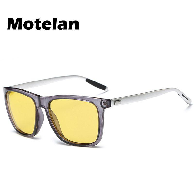 16873fc114 Yellow Lense Night Vision Polarized Driving Goggles Professional Reduce  Glare 2017 Men s Fashion Sport Driving Fishing