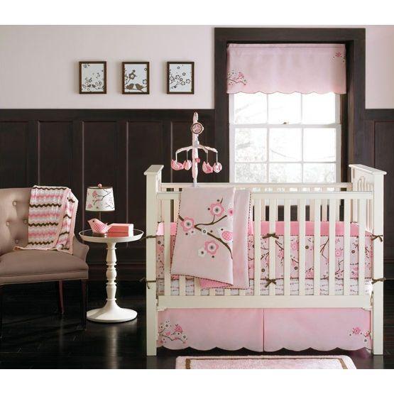 Beautiful Cherry Blossom Baby Bedding By Migi