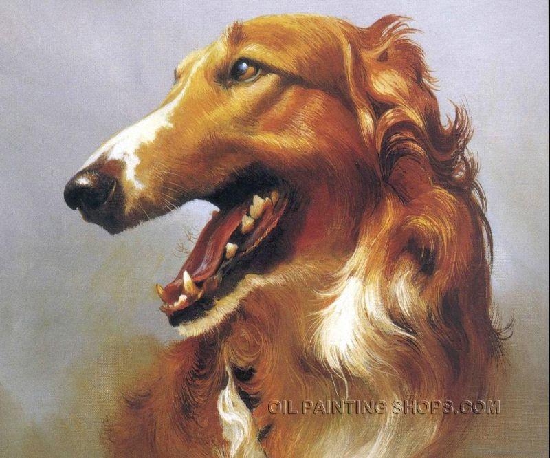 Amazing Oil Painting Reproduction Animal Pet Portrait Dog