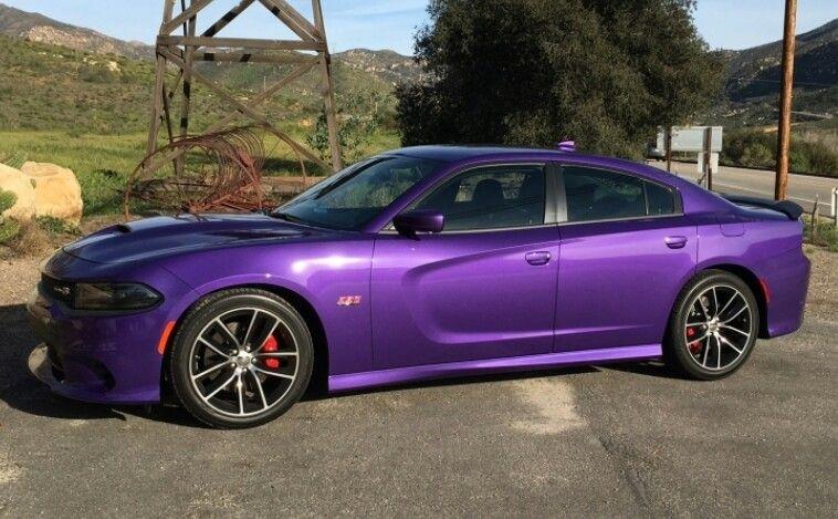 2017 Purple Dodge Charger