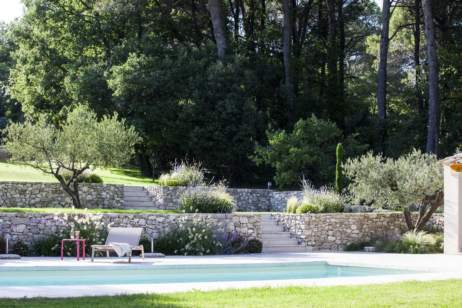 Aix en provence cr ation jardin priv architecte for Creation jardin exterieur