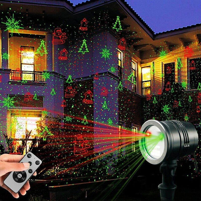 Christmas Laser Lights Projector Remote Control Indoor Outdoor Xmas Decorations Salca Laser Christmas Lights Best Christmas Laser Lights Best Christmas Lights