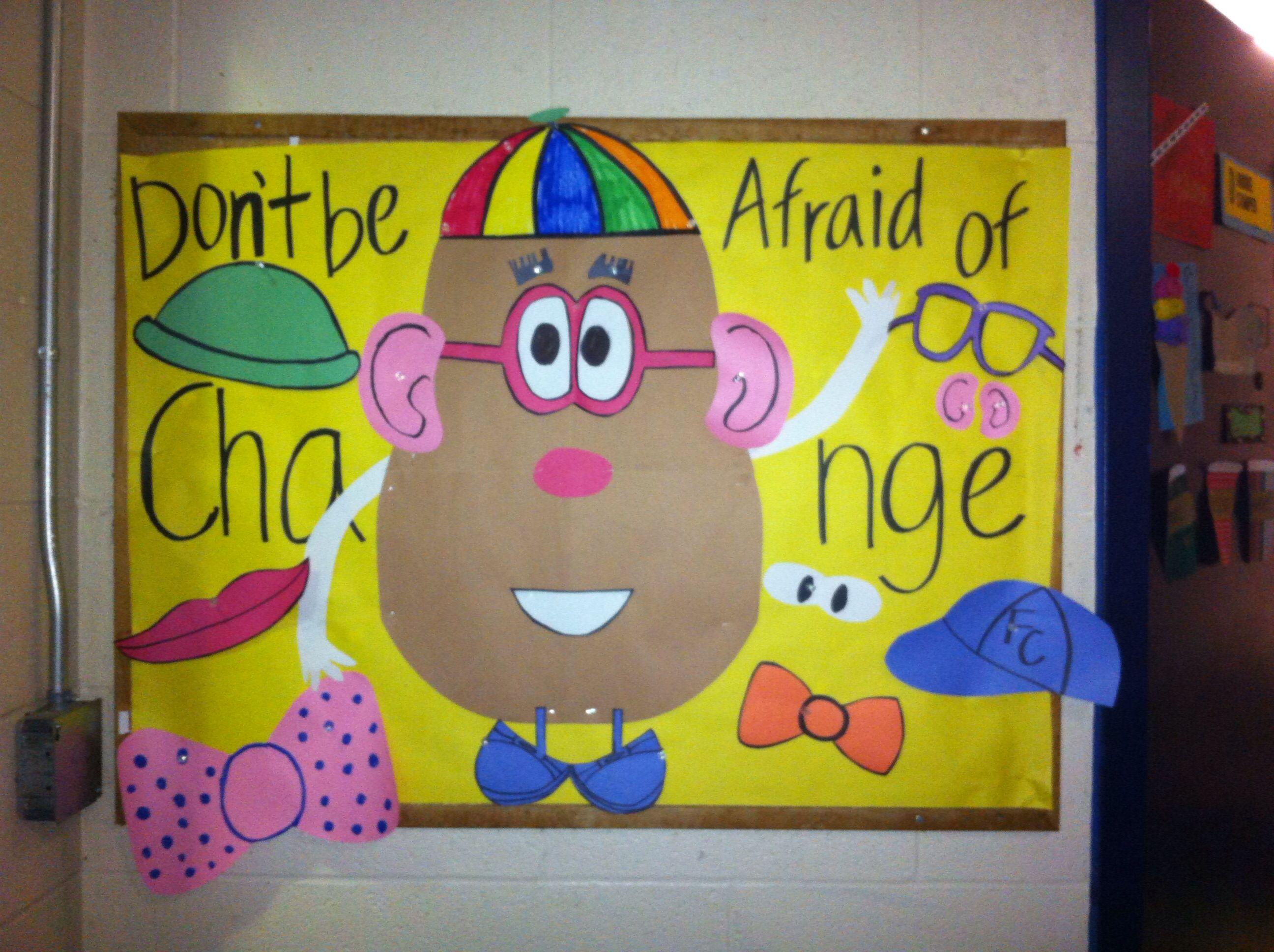 Ra Mr Potato Head Bulletin Board