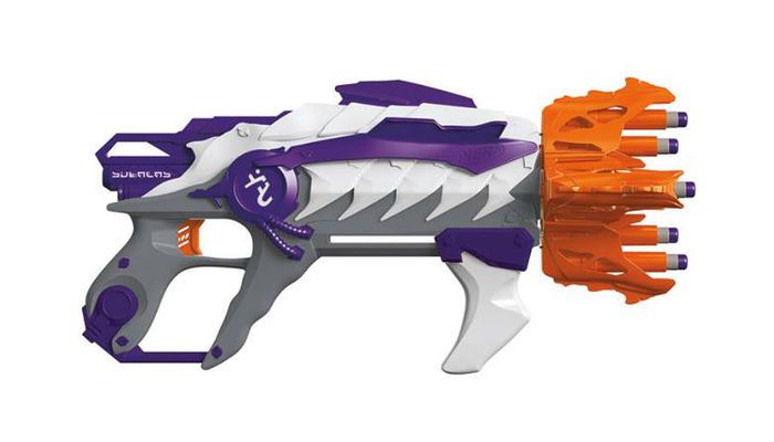 Nerf's Newest Rival Blaster Fires Two 70 MPH Rounds With Every Pump
