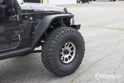 Jcroffroad Vanguard Front Wide Fender Flares Jeep Wrangler