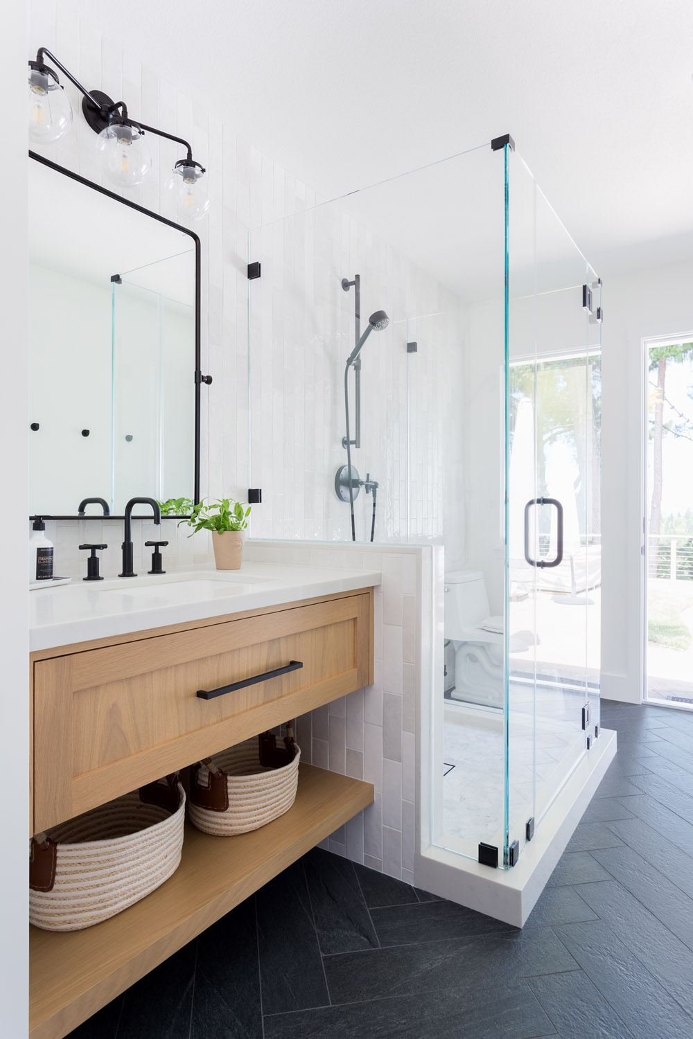 A Bright And Functional Renovation For A Young Bay Area Family Rue Bathroom Remodel Master Master Bathroom Renovation Bathroom Decor