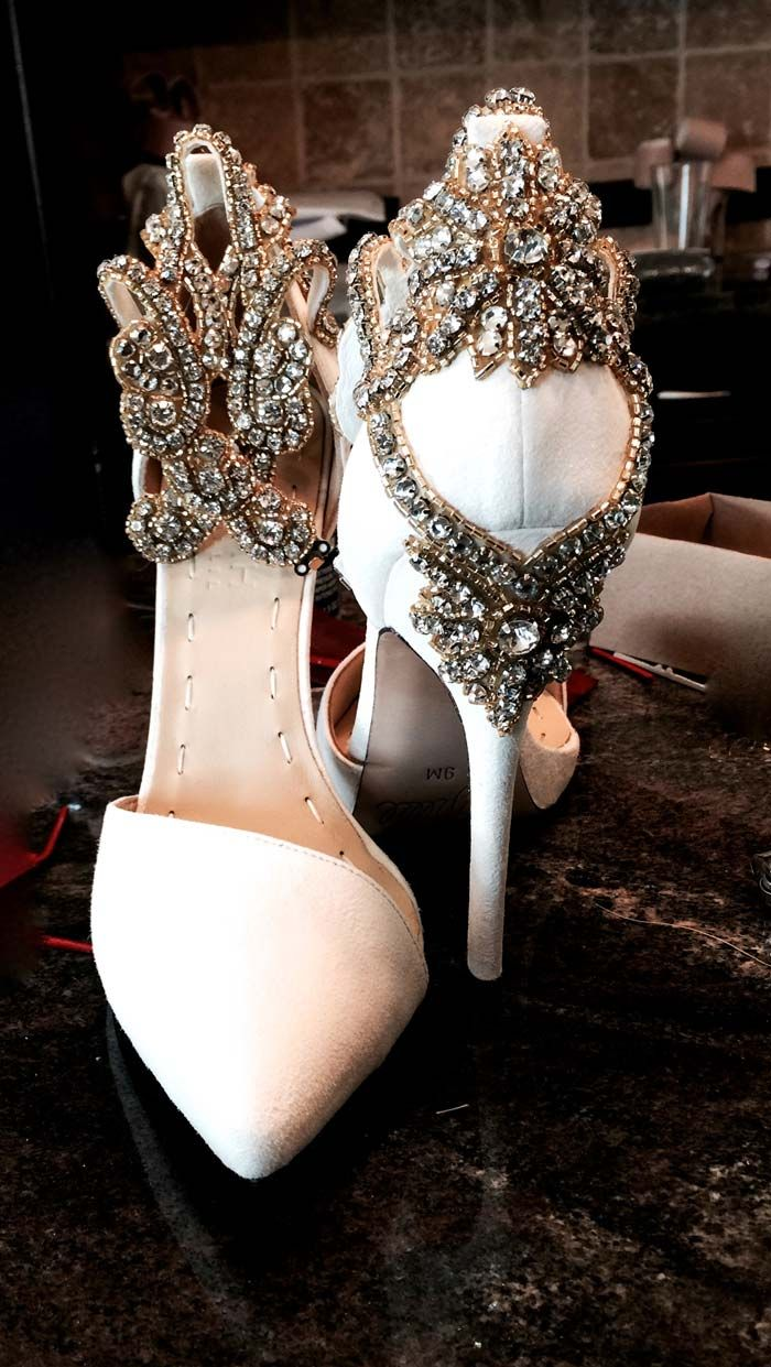 And these may very well be my wedding shoes in jesus name