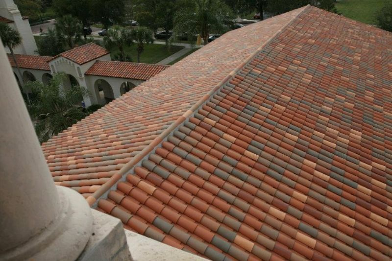 Beautiful Orlando Clay Tile Roof By Premier Roofing Roof Repair Roofing Clay Tiles