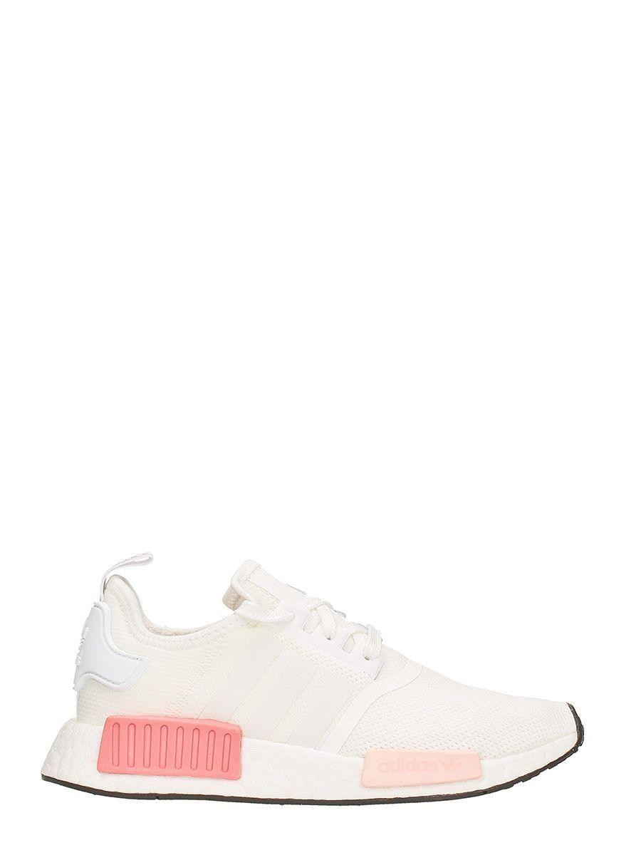 detailed look 5196b a9c8e ADIDAS ORIGINALS ADIDAS NMD R1 RUNNING WHITE ROSE.  adidasoriginals  shoes