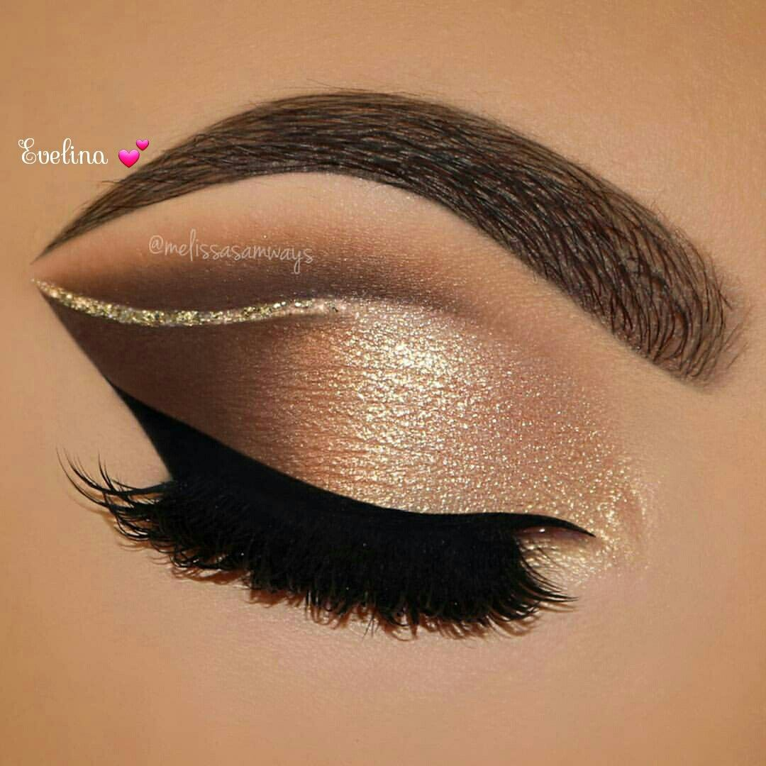 Gold eyeshadow - Perfect Golden Eyeshadow Ideas for Glam Makeup Looks #eyemakeup #eyeshadow #