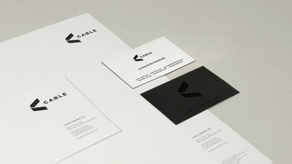 Cable Finance - Business Card Design Inspiration | Card Nerd ...