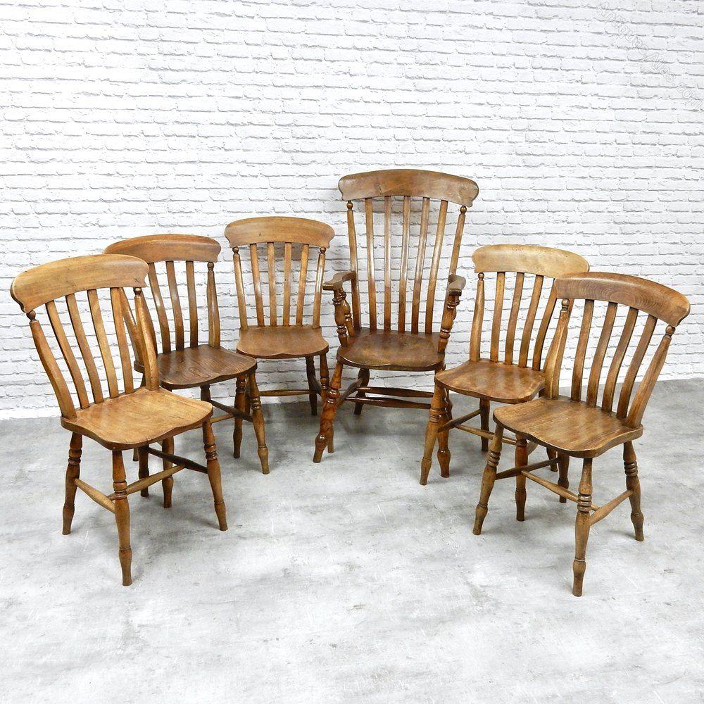 Farmhouse kitchen chair set antique dining chairs chair