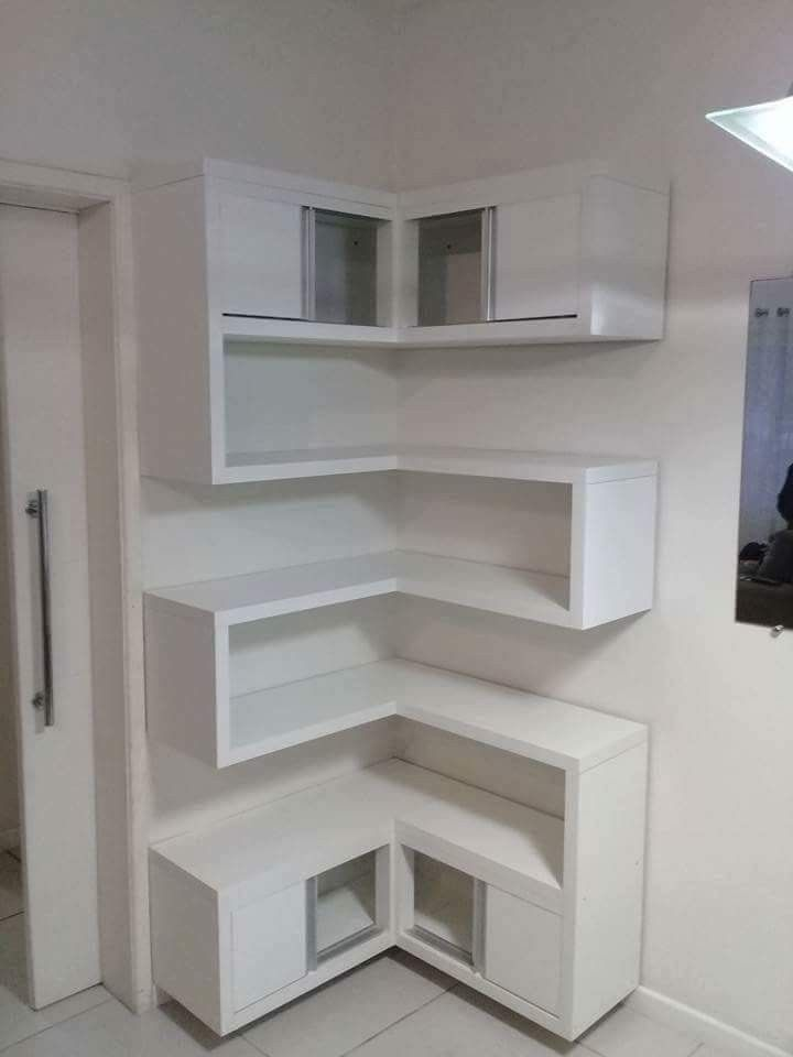 Great Small Corner Space Built In Meuble House Decoration Interieure Facile Idees De Meubles