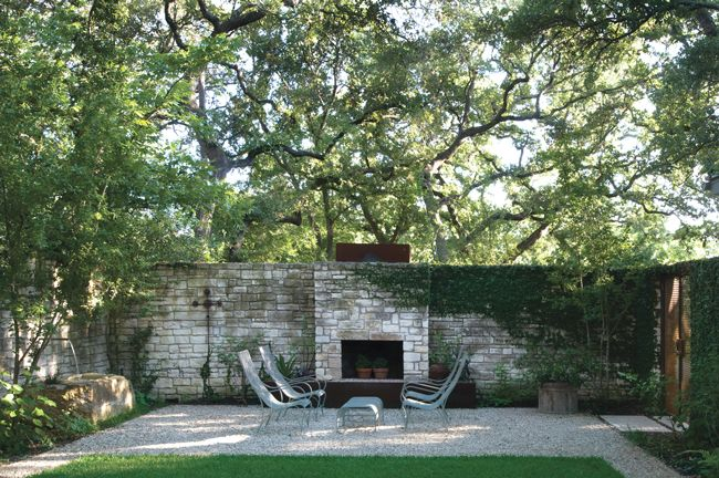 Courtyard Designed By Ten Eyck Landscape Architecture From Austin Texas Photo Paul Hester Monacelli Featured In The Book Private Paradise