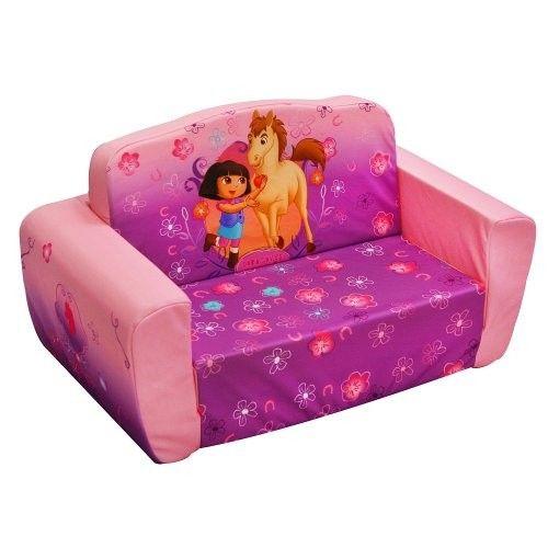 Swell Dora The Explorer Flip Open Sofa Kids Furniture Christmas Machost Co Dining Chair Design Ideas Machostcouk