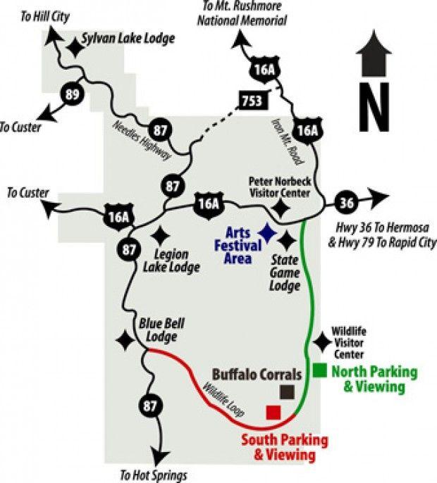needles highway south dakota map Pin By Jacqueline Cress On Montana Trip Yellowstone Custer State Park State Parks Custer needles highway south dakota map