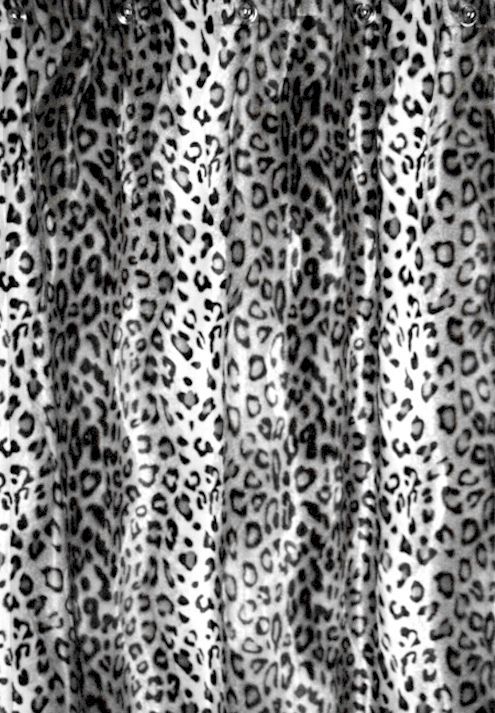 Snow Leopard Animal Essence Faux Fur Shower Curtain. $196.00 SALE $178.00