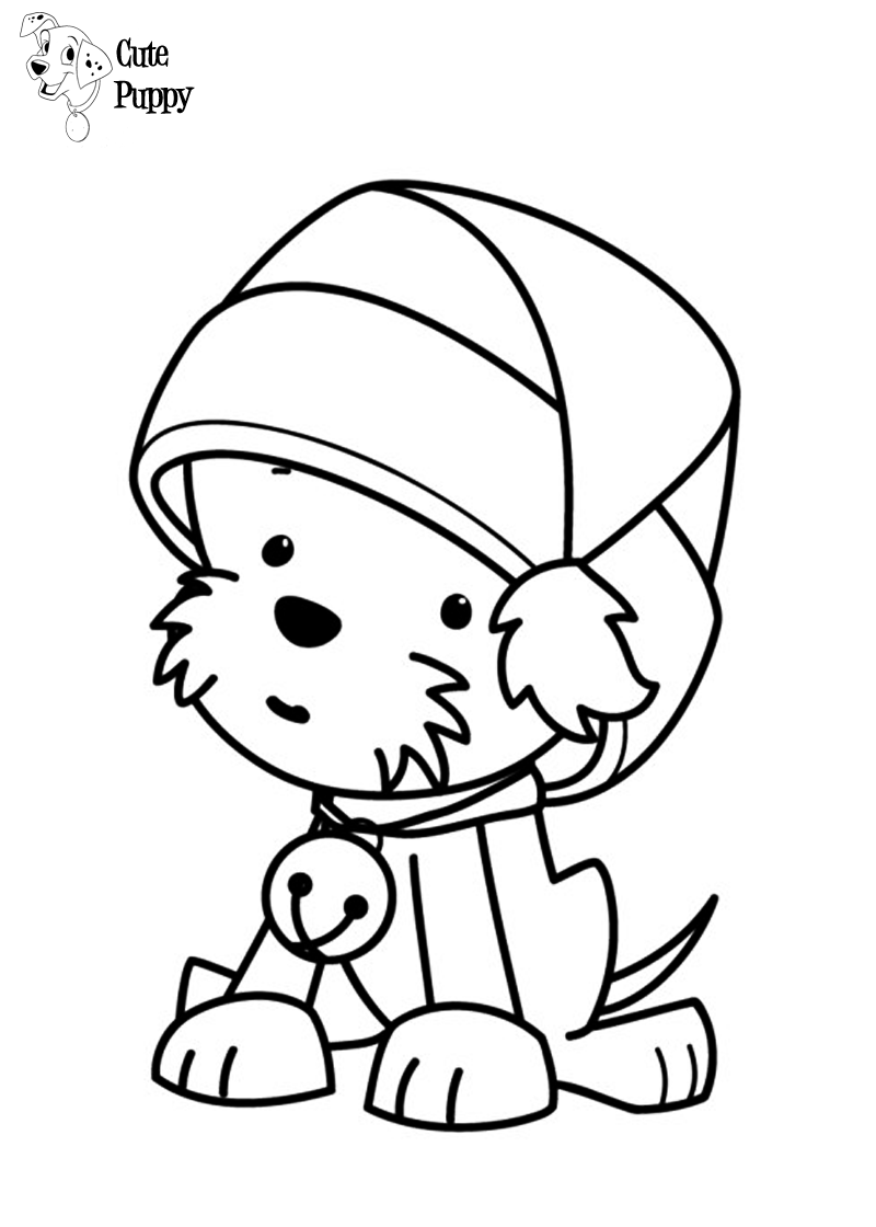 Cute Puppy Coloring Pages Bratz Coloring Pages Puppy Coloring Pages Printable Christmas Coloring Pages Cute Coloring Pages