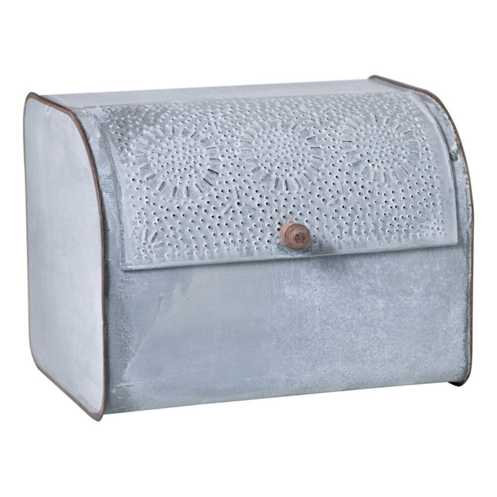 Details about country farmhouse vintage style bread box