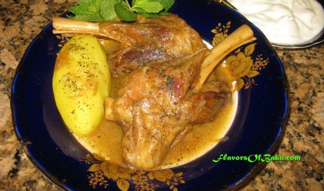 Lamb Soyutma Flavors Of Baku Cooking Meat World Cuisine Cooking