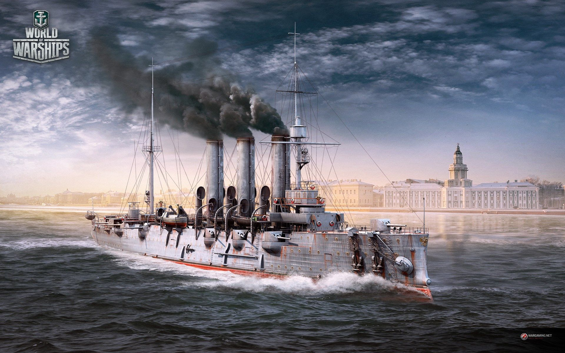 1920x1200 World of Warships game wallpaper World of