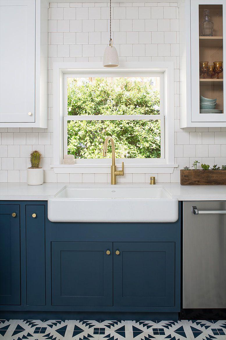 Kelly Martin Interiors Portfolio Los Angeles Ca Hague Blue Kitchen Blue Kitchen Cabinets Blue Cabinets