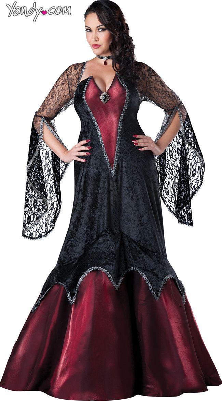 Plus size sexy vampire costume