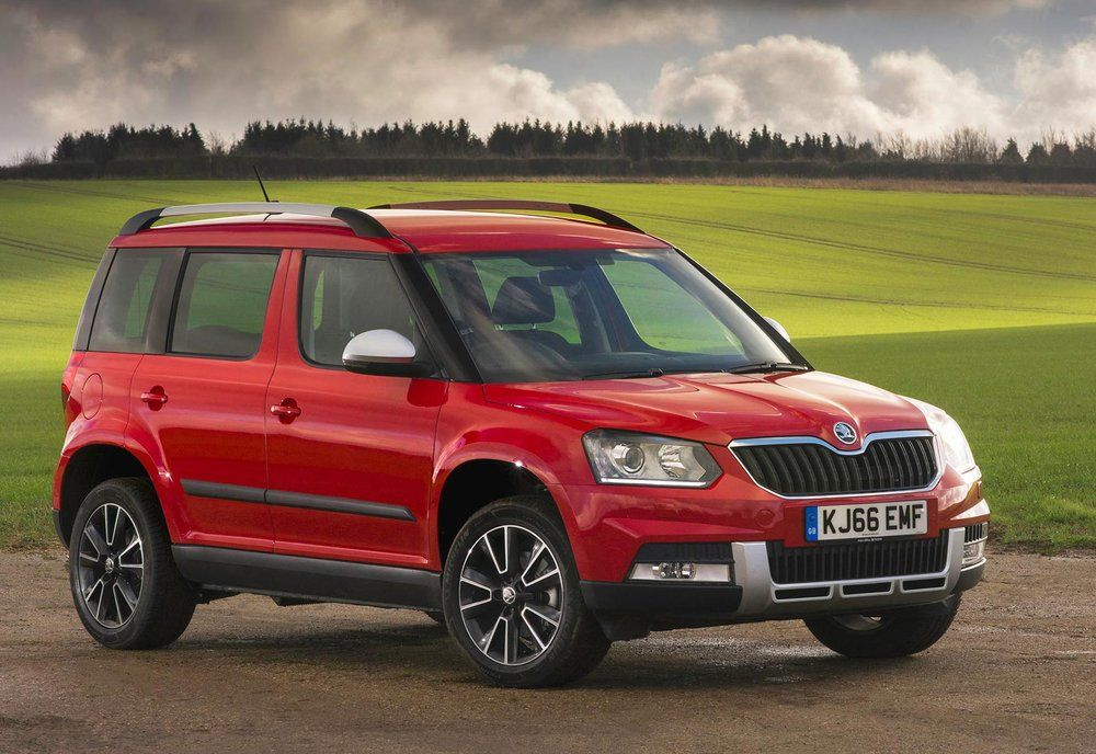 Skoda Adds Drive Models To Yeti Range Car Videos Suv Models