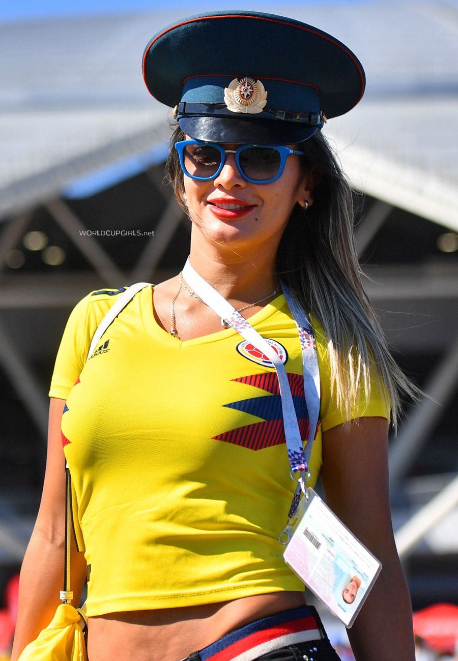 Hot Colombian Girls At World Cup 2018 Pictures World Cup Girls