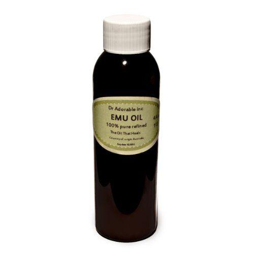 4 Oz/118 ml Emu Oil 100% Pure Organic Moisturizing Oil For Face Skin Hair Growth Stretch Marks And More Fully Refined Dr.Adorable http://www.amazon.ca/dp/B00M3F4UVU/ref=cm_sw_r_pi_dp_vSQ4ub0KEC7QR