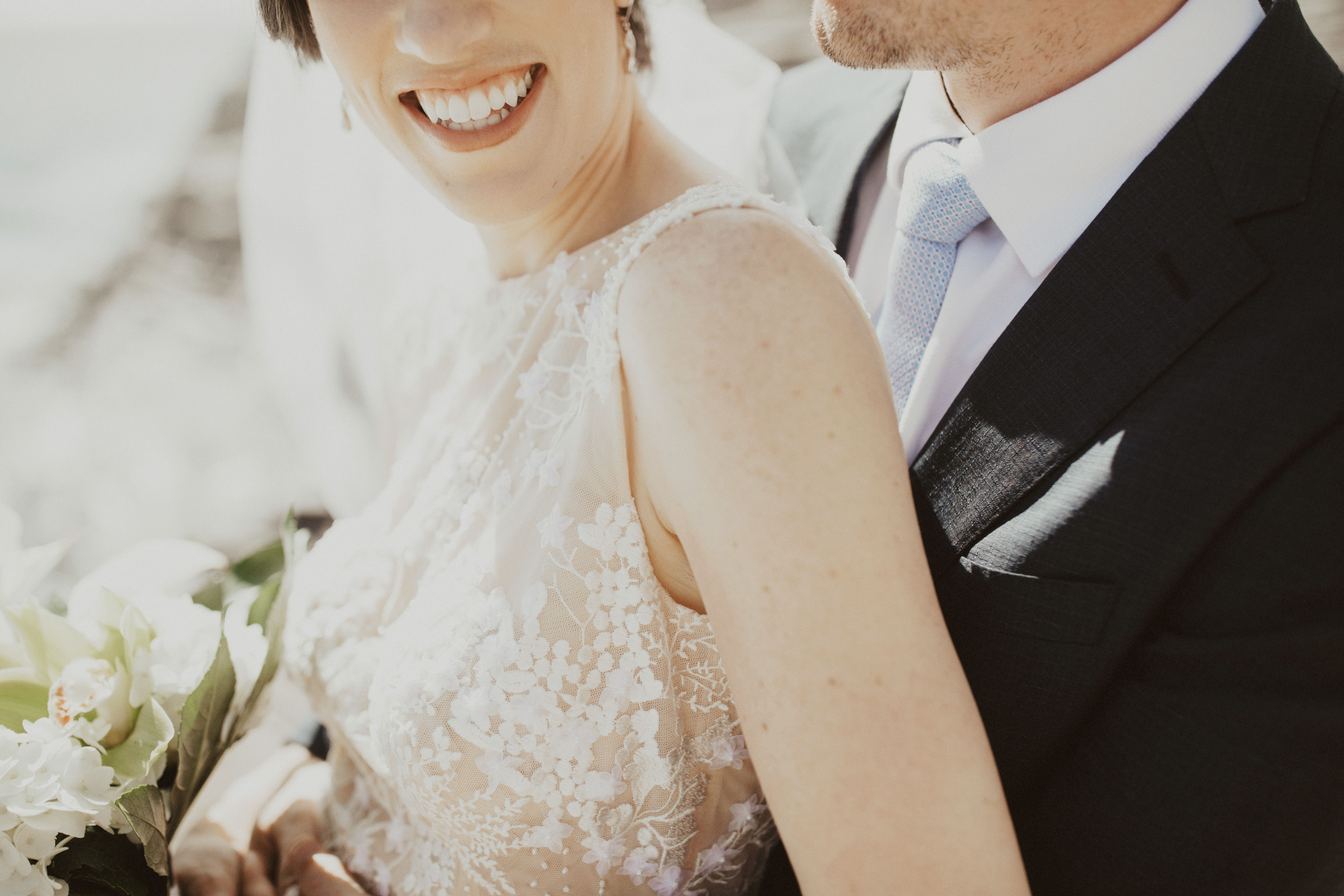 Handmade wedding dress  Check out the detailing on this Katie Lee Custom wedding dress