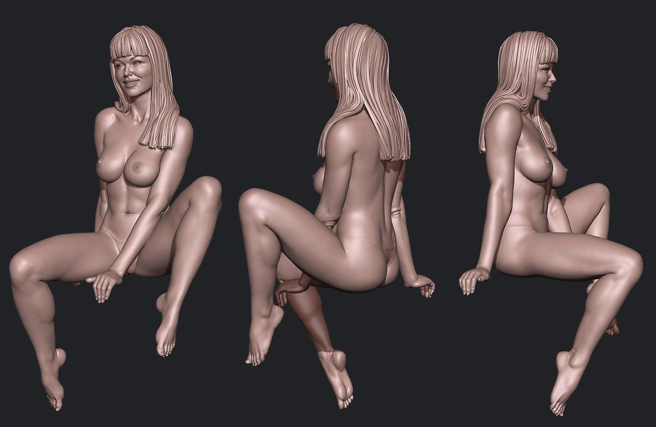 Nude game characters
