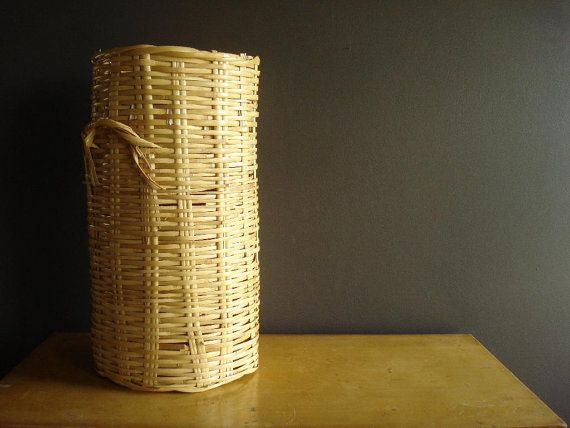 Hey, I found this really awesome Etsy listing at https://www.etsy.com/listing/234253179/vintage-umbrella-basket-or-wastepaper