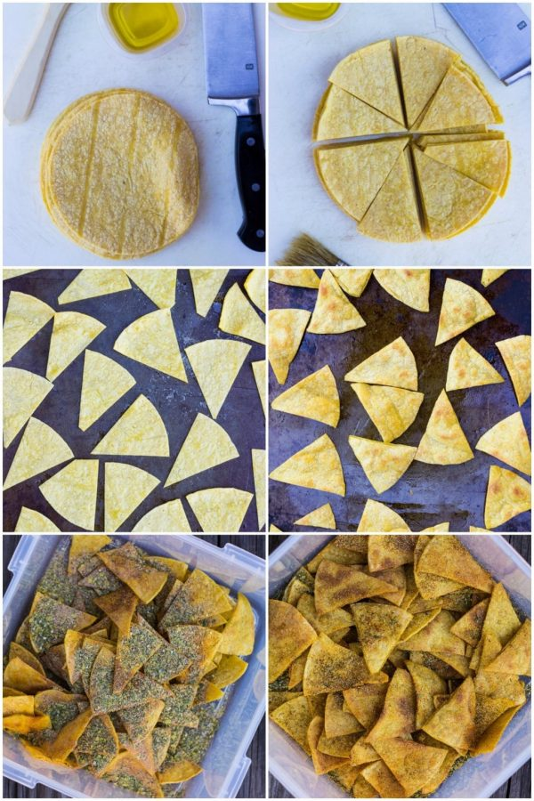 Homemade Cool Ranch Doritos {vegan, gluten free} – She Likes Food