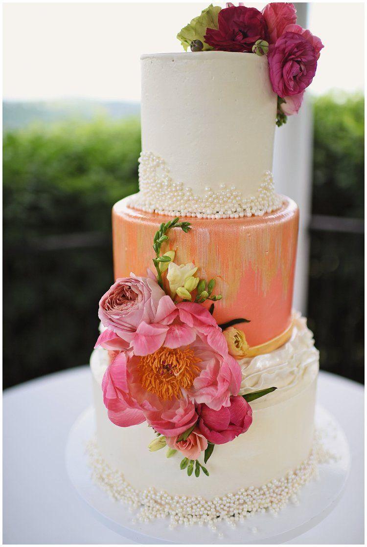 Pin on Naked Wedding Cakes