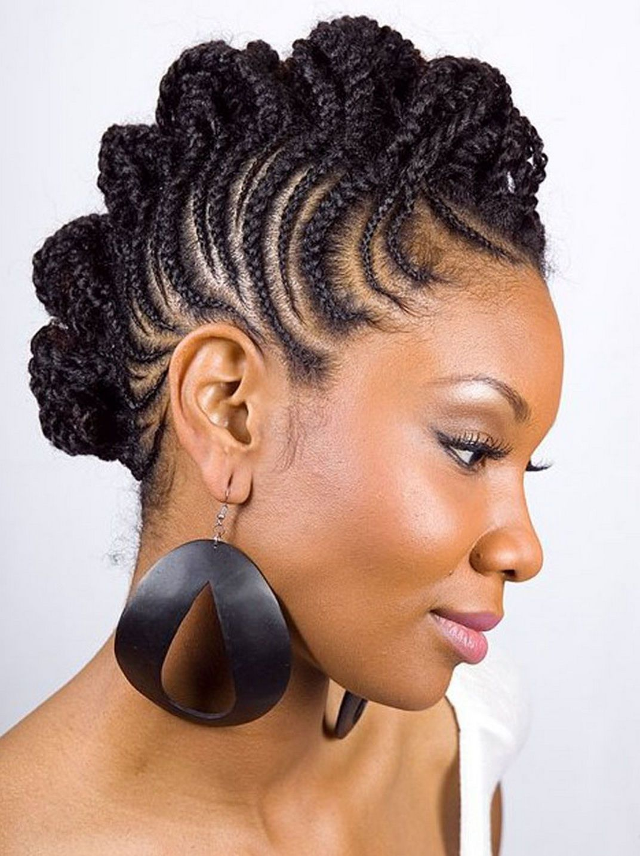 Braids Hairstyles for Black Women | nice braided mohawk hairstyles ...