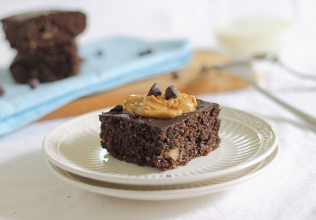 chocolate protein cake bars Chickpea flower