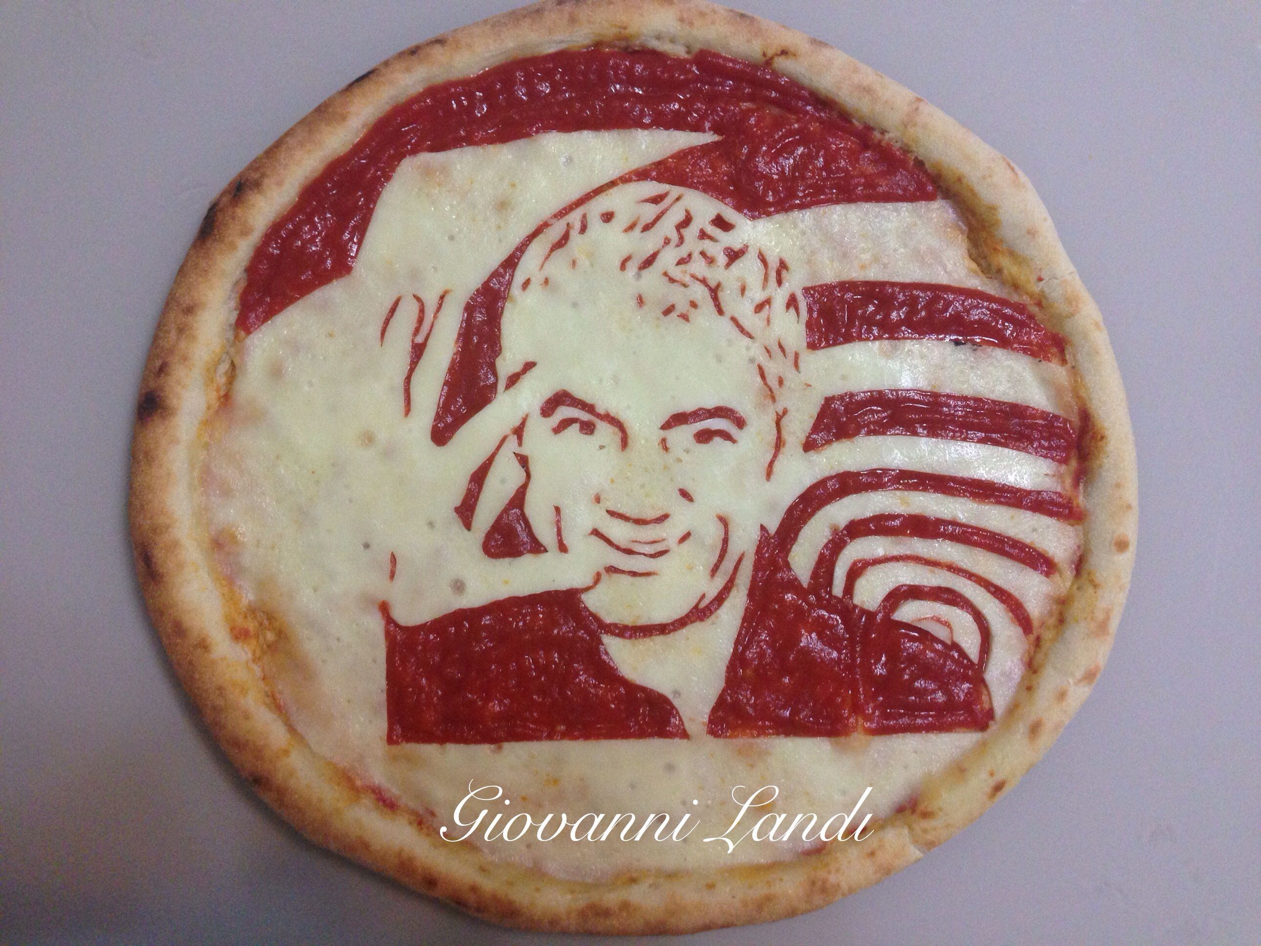 Giovanni Landi PizzArte pizza Biagio Izzo | Food art, Food ...