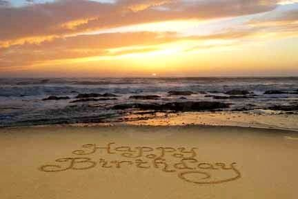 Hy Birthday Sunset Not Mine With