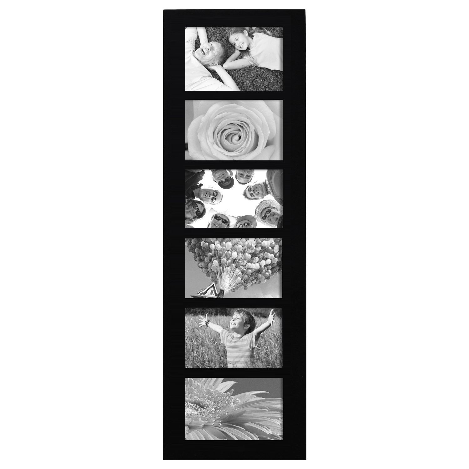 Adeco 6 Opening Collage Picture Frame Pf0167 Framed Photo Collage Hanging Picture Frames Collage Picture Frames
