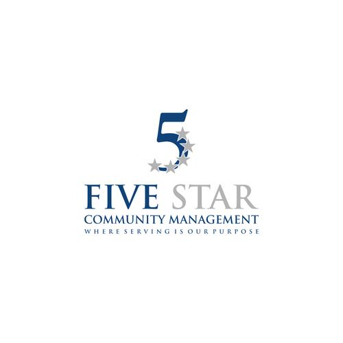 Design An Elegant Yet Powerful Logo For Five Star Community Management Logo Management Logo Pet Logo Design Community Manager