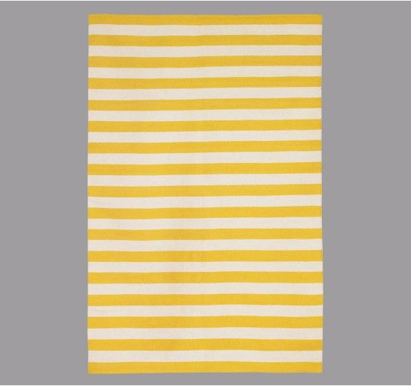 Dwell Studio Stripe Citrine Rug   Love This