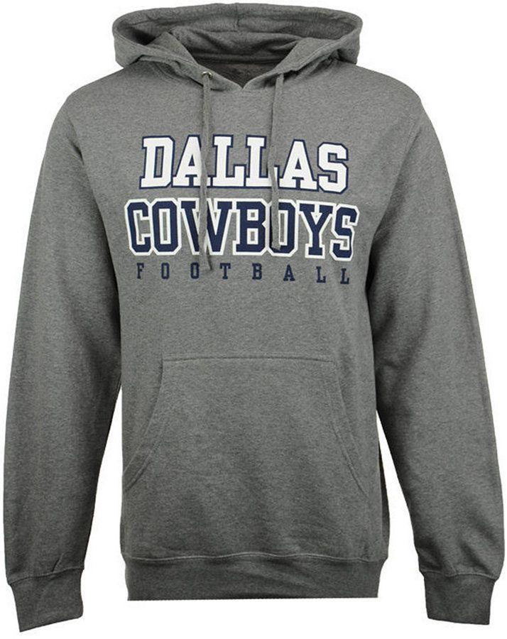 Authentic Nfl Apparel Men Dallas Cowboys Practice Fleece Hoodie  free shipping
