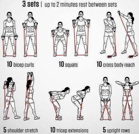 30 Days To Super Abs Wp B Smart Series Arm Workout With Bands
