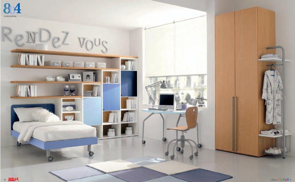 Smart Kids Room with Mac Desk