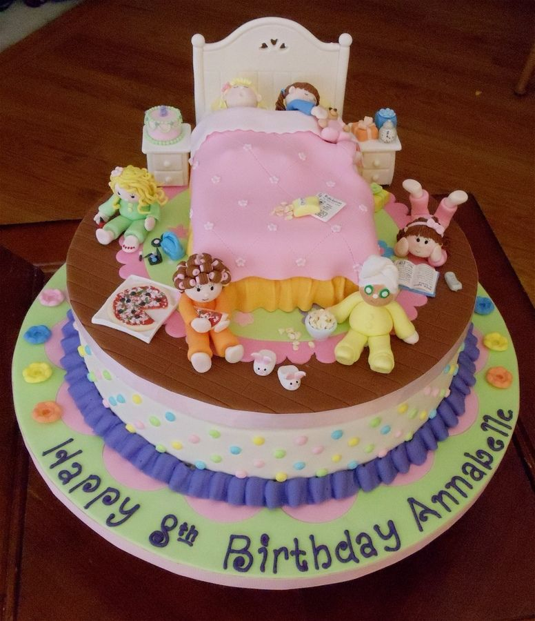 Slumber Party Cake Ideas Slumber Parties 10th Birthday Parties