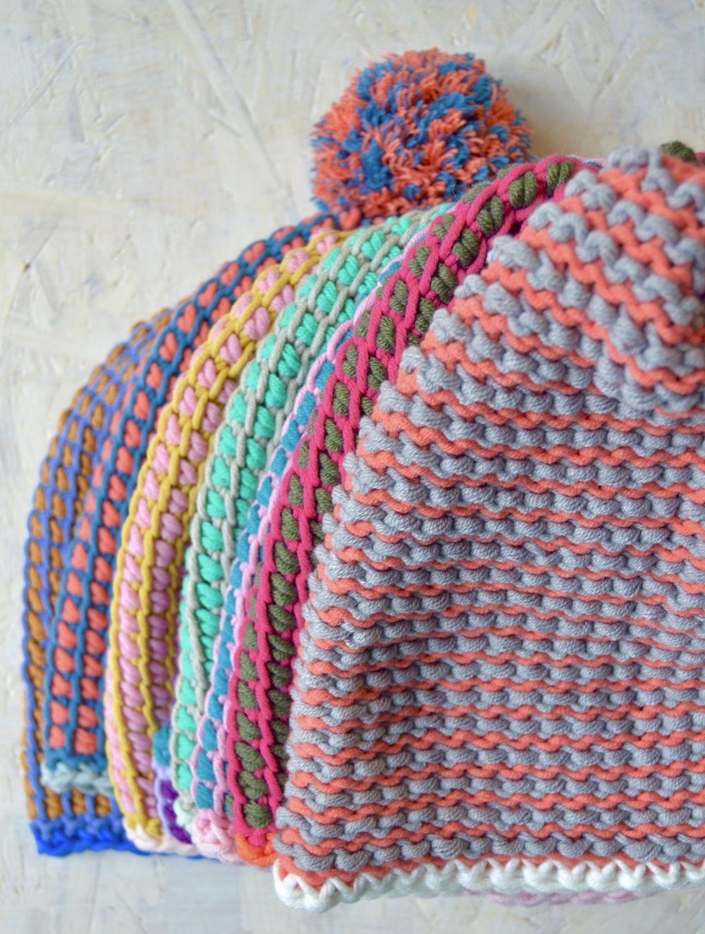 Tunisch gehaakte mutsen! Tunisian crochet byClaire patroon   sjaal ...