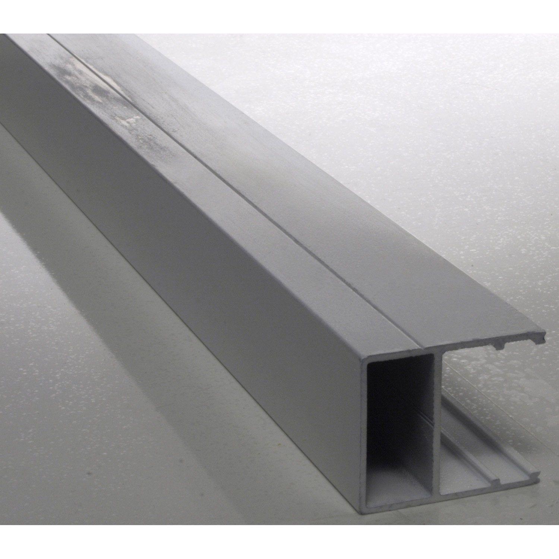 Profil Bordure Pour Plaque Ep 32 Mm Blanc Laque L 4 M Carboglass Bordure Faux Plafond Placo Plaque