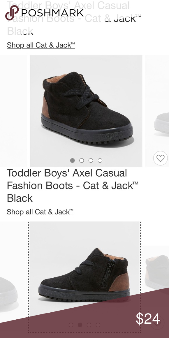 6a54348b0a Cat and jack toddler boy boots size 7 brand new in the box. Cat and jack boys  boots. Size 7. Cat   Jack Shoes Boots